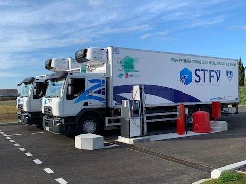 photo transporteurs de biens et marchandises mobilité durable