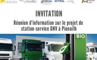 Réunion d'information sur le BioGNV
