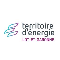 logo territoire d'energie lot-et-garonne carré